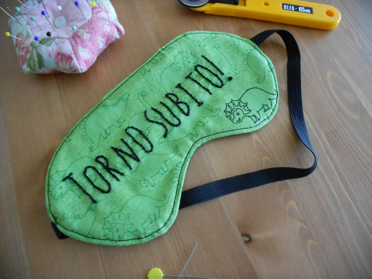 Sleeping Mask - Torno subito